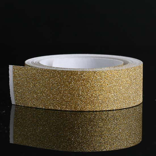 gold sparkle glitter tape 1 - beach wedding shower favors