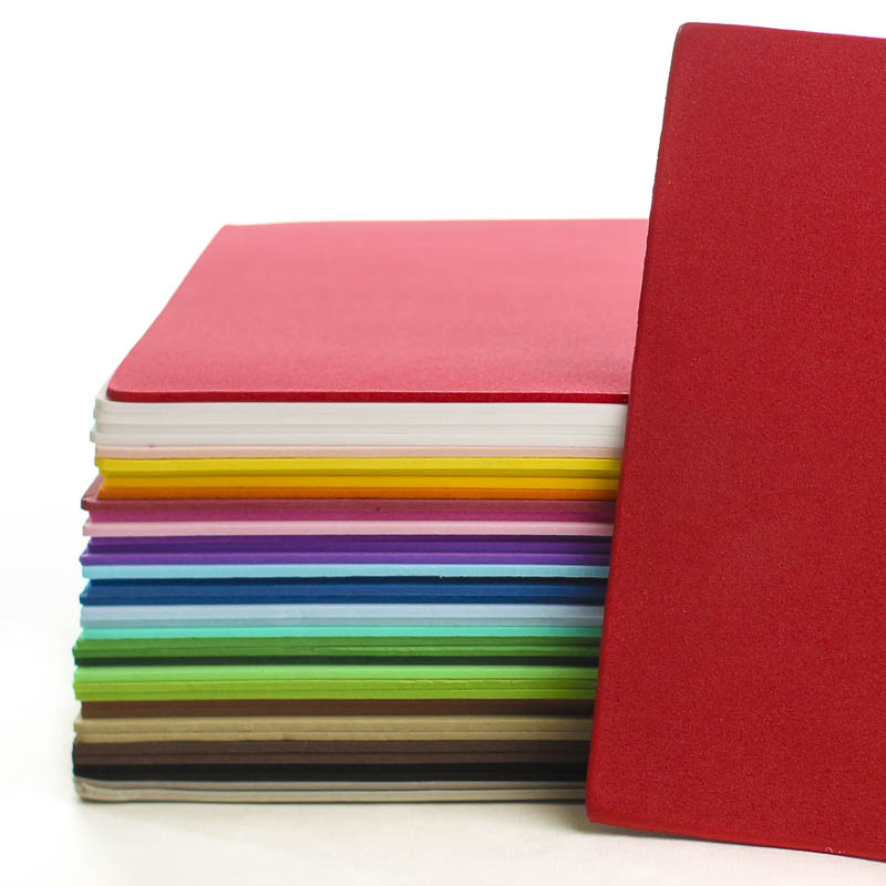 Assorted craft foam sheets foamies craft foam basic for Craft ideas using foam sheets