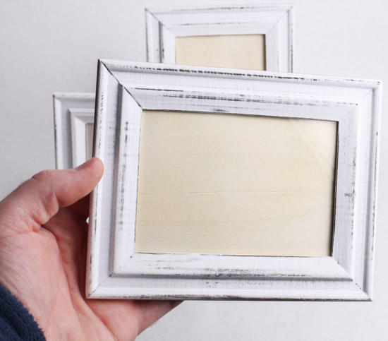 rustic white picture frames - White Picture Frames