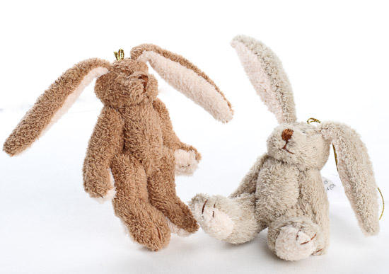 Jointed Plush Floppy Ear Bunny Muslin Dolls And Animals Doll