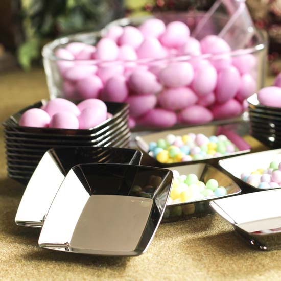 Small Silver Plastic Appetizer Plates - Kitchen Utensils - Kitchen and Bath - Home Decor & Small Silver Plastic Appetizer Plates - Kitchen Utensils - Kitchen ...