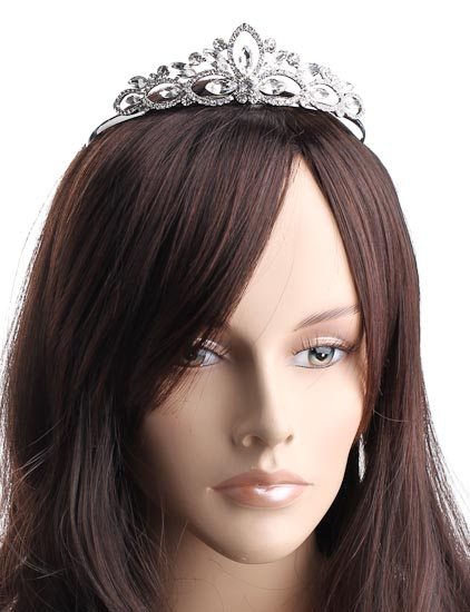 Prom Tiara Hair Crown Piece Tiaras And Accents Wedding Wear Picture