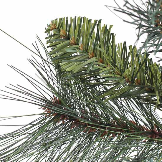 Artificial christmas holiday mixed andy pine greenery
