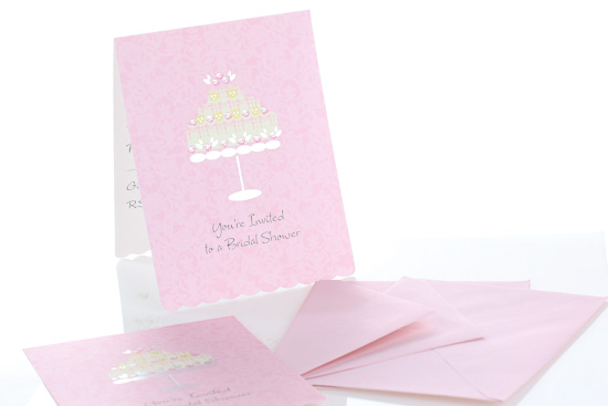 Bridal shower invitations and envelopes set of 30 basic craft supplies craft supplies for Imprintable bridal shower invitations
