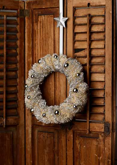 Compare Size & Silver Metal Star Over-the-Door Wreath Hanger - Wreaths - Floral ...