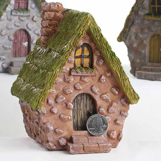 English Countryside Cottage Fairy Garden House Fairy Garden