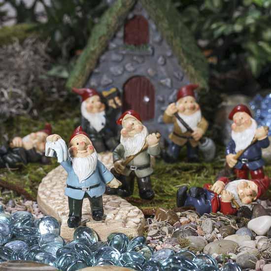 Miniature Garden Gnome Pick Fairy Garden Miniatures