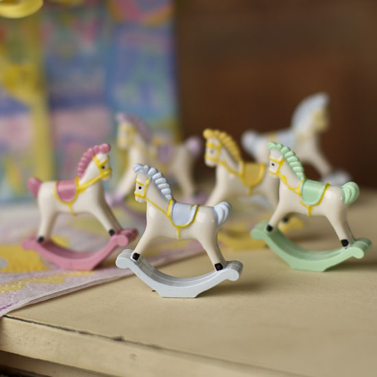 Baby Rocking Horse For Cake Decorations