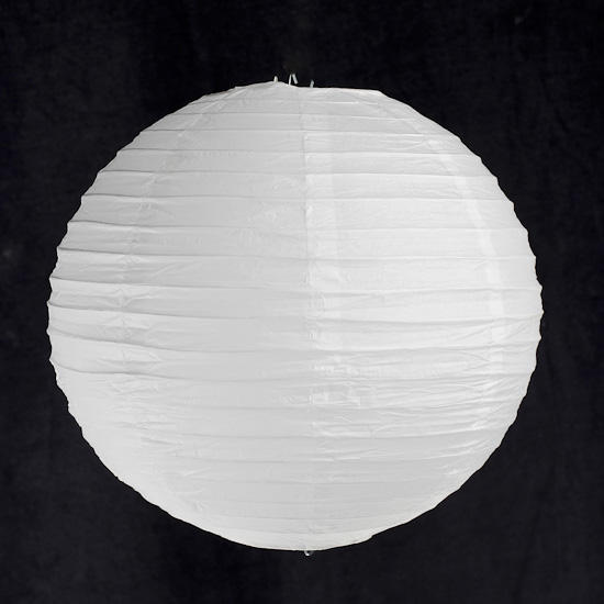 White paper chinese lantern lighting home decor