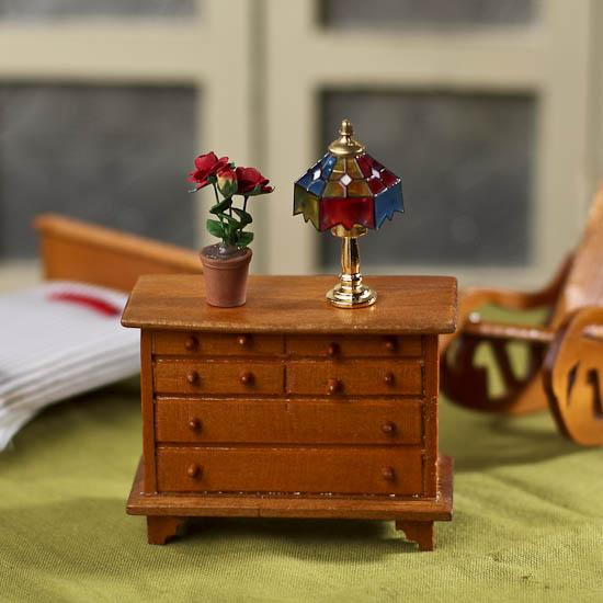 Dollhouse Miniature Dresser What S New Dollhouse