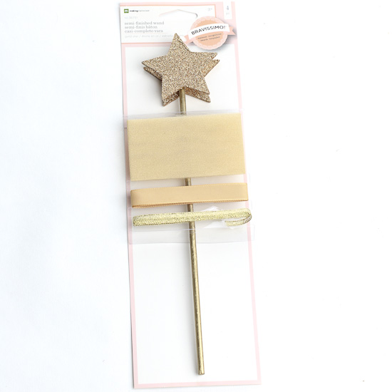 Semi finished gold star wand kits kids craft kits kids for Wand making kit