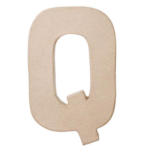 "Paper Mache Letter ""Q"" - Paper Mache - Basic Craft ..."