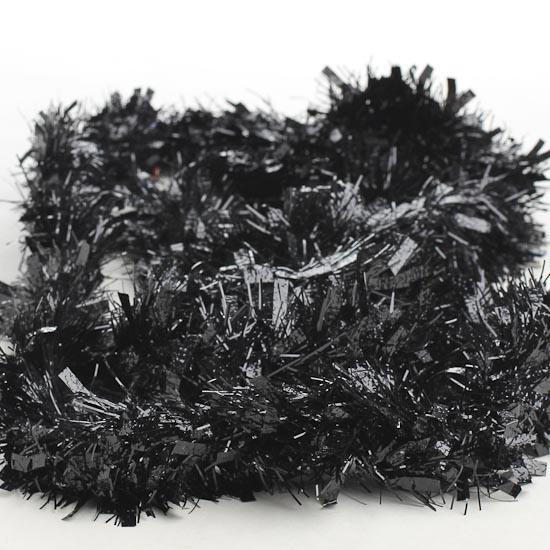 Best black tinsel garland