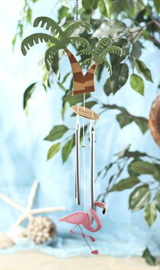 Palm Tree Tropical Wind Chime Coastal Decor Home Decor