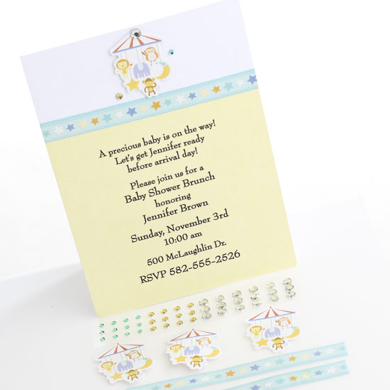 own baby shower invitations invitations and thank yous baby shower