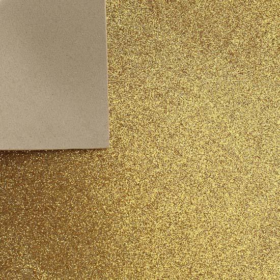 gold glitter craft foam sheet - craft foam
