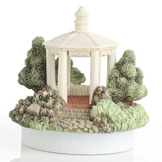 Home Interiors Candles Catalog: Fairy Garden Gazebo Figurine