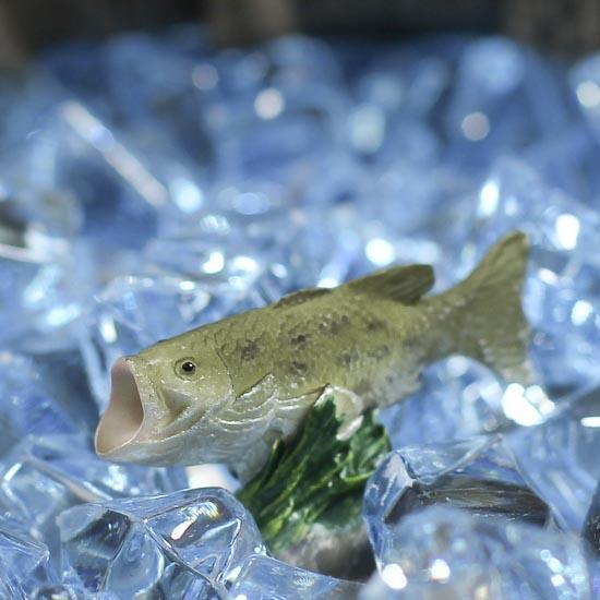 Miniature Resin Bass Fish
