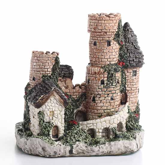 Miniature Fairy Garden Castle In The Shire   Fairy Garden Miniatures    Dollhouse Miniatures   Doll Making Supplies   Craft Supplies