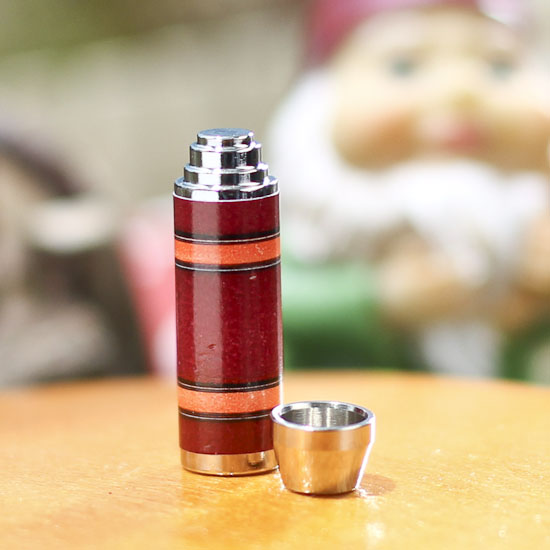 1:12 Scale Miniature Dollhouse  Thermos w\ Removable  Top