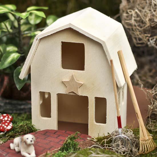 Wood Miniatures - Wood Crafts - Craft Supplies