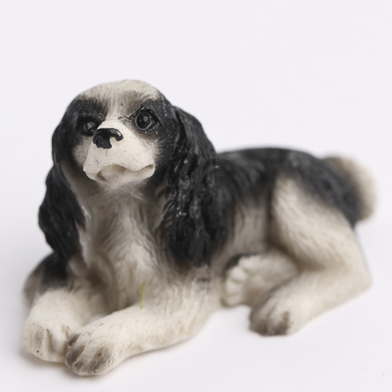 Miniature Welsh Springer Spaniel Dog Fairy Garden