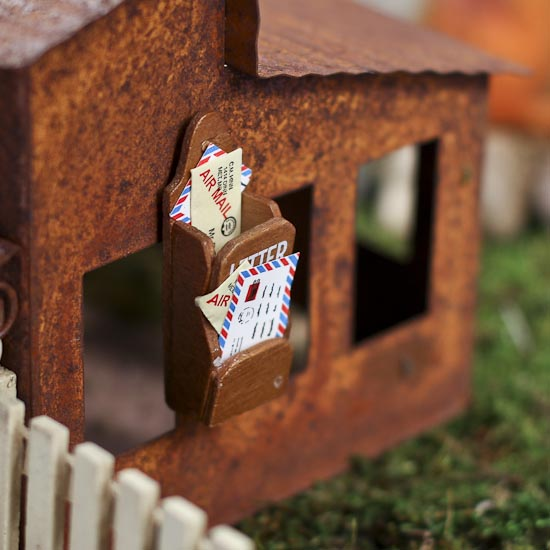 Miniature dollhouse letter and mail holder miniatures for Free craft catalogs mail