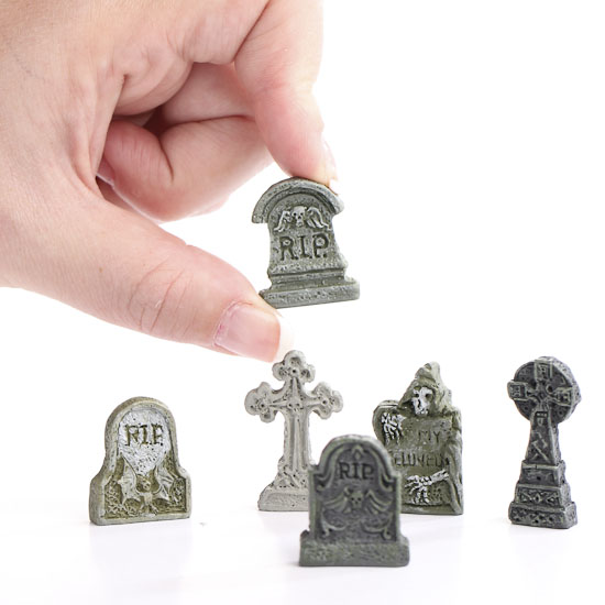 Miniature Gothic Tombstones Halloween And Fall