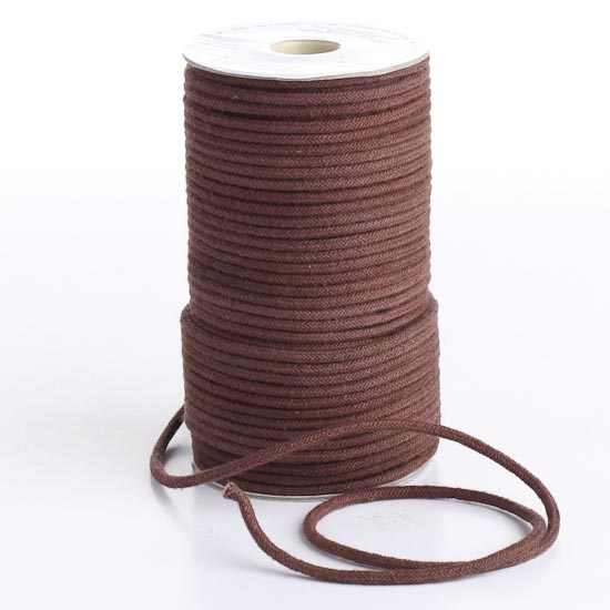 macrame supplies brown polyester macrame cord wire rope string 1748
