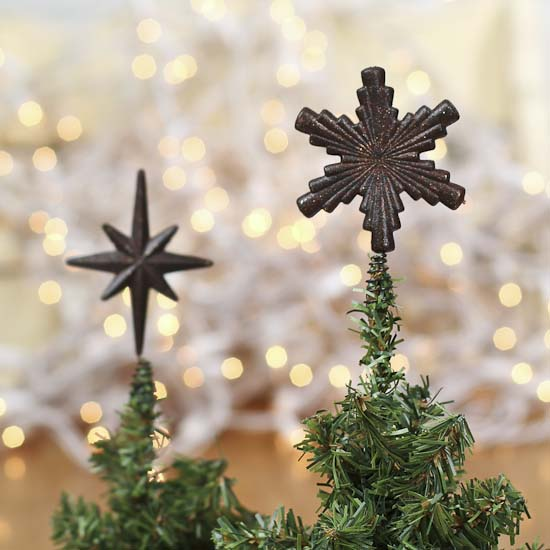 miniature rustic star tree topper christmas ornaments christmas and winter holiday crafts. Black Bedroom Furniture Sets. Home Design Ideas
