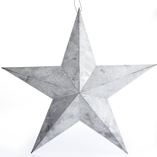 Gray Zinc Weathered Barn Star Barn Stars Primitive Decor