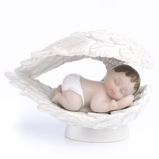Miniature Sleeping Angel Baby Figurine - Fairy Garden ...