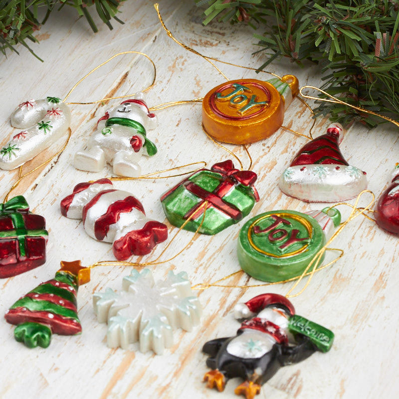 Assorted Miniature Holiday Ornaments