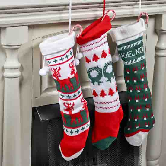 Knit Christmas Stocking Christmas And Winter Sale Sales
