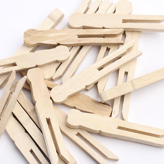 Clothespins Wood Crafts Craft Supplies