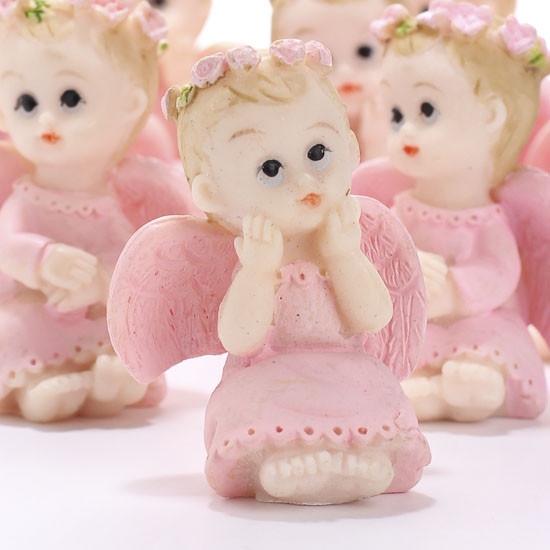 baby angel figurines 12pcs it 39 s a girl theme baby shower baby
