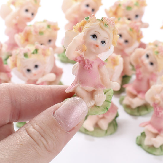baby fairy figurines 12pcs it 39 s a girl theme baby shower baby