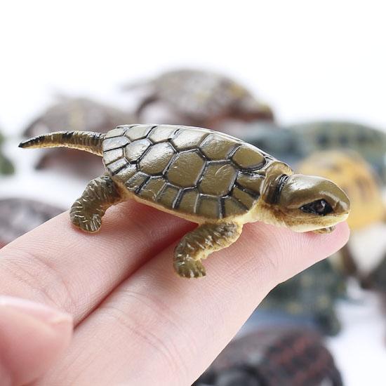 Miniature Plastic Turtles Fairy Garden Supplies