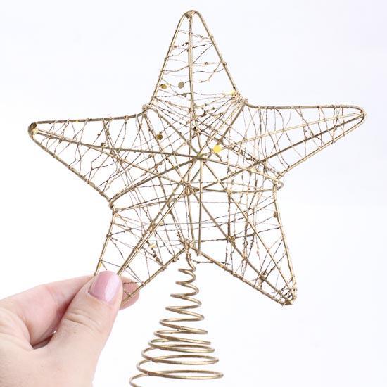 Make Christmas Tree Topper