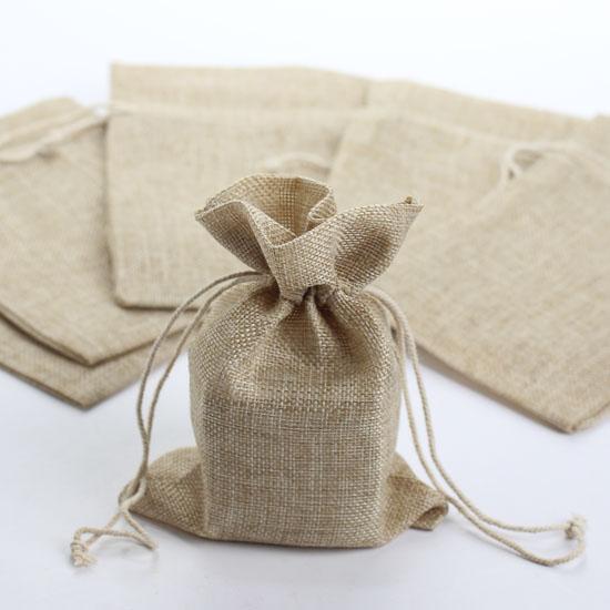 Wedding Gift Bags Burlap : Burlap Favor BagsFavor & Gift BagsFavor HoldersContainers ...
