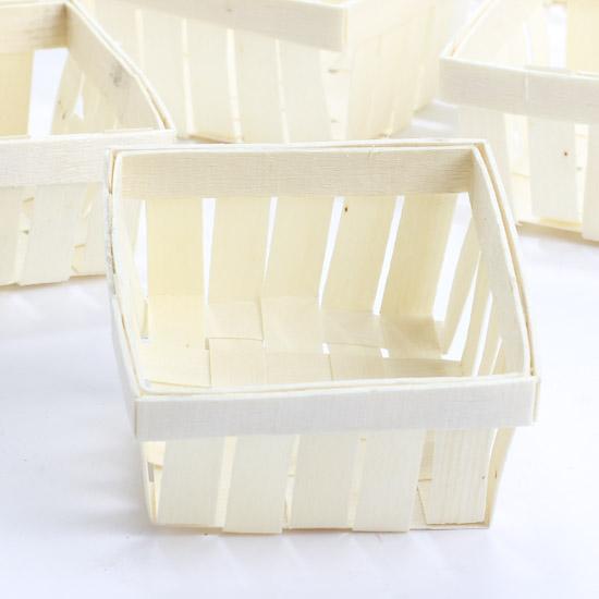 David Tutera Wood Berry Baskets