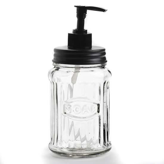 Glass Quot Soap Quot Hoosier Jar Dispenser Jars Lids And Pumps