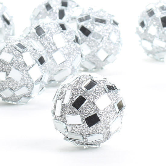 Miniature Retro Mirror Disco Ball Ornaments Sales