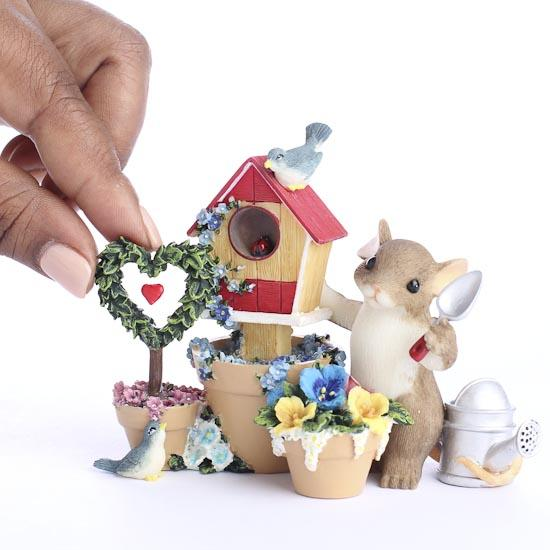 Miniature mouse you make our home beautiful figurine by for Make home beautiful