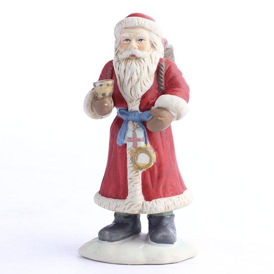 Ceramic santa figurines christmas and winter sale