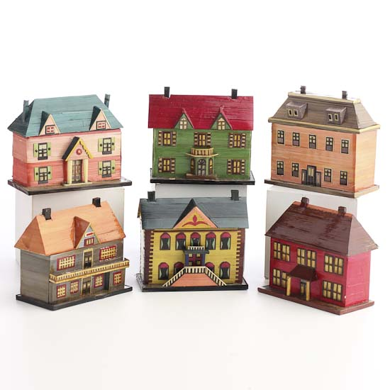 Miniature Colonial Salt Box Houses What S New