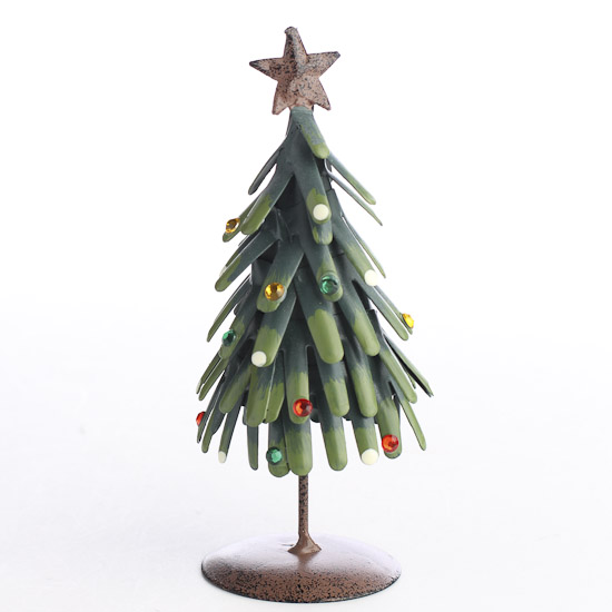 Rustic Metal Christmas Tree - Table Decor - Christmas and ...
