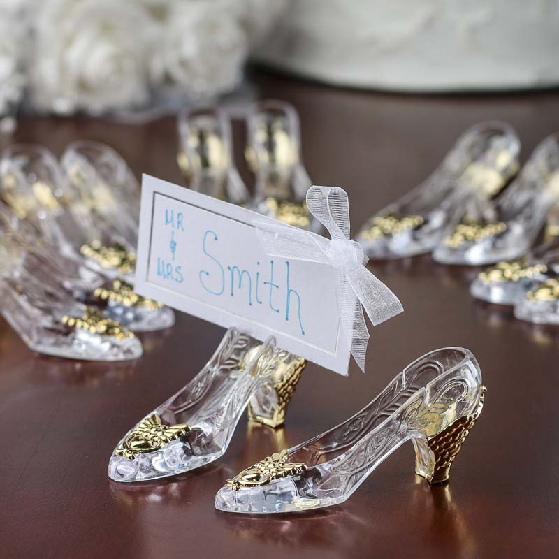 Cinderellas Slipper Placecard Holders Placecards Place Card