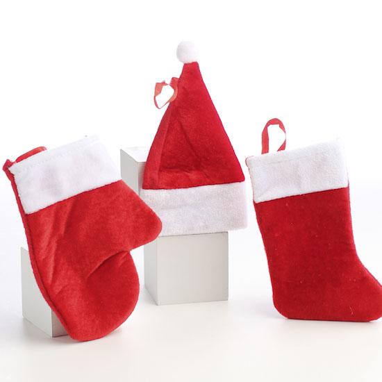 miniature christmas stocking hat and mitten set christmas