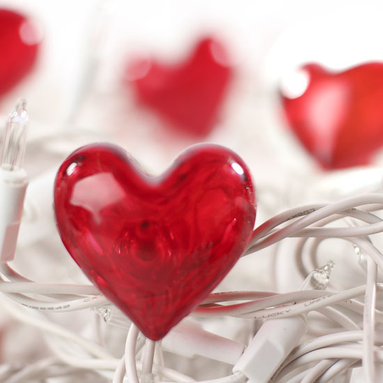 Acrylic Heart String Light Covers Valentine S Day